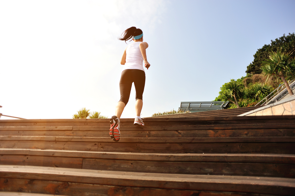 mudanças como subir escadas fazem diferença